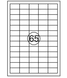 Quantore ETIKET  38X21.2 975STKS