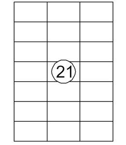Quantore ETIKET  70X42.4 2100STKS