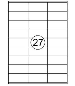 Quantore ETIKET  70X32 2700STKS