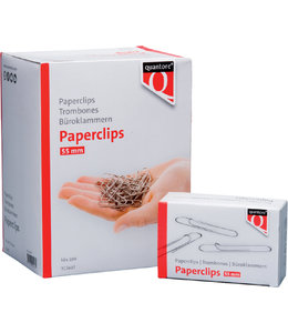 Quantore PAPERCLIP R50 55MM 5STKS