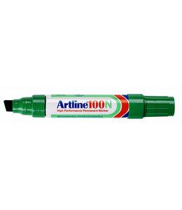 Artline VILTSTIFT 100 SCHUIN GN