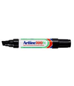 Artline VILTSTIFT 100 SCHUIN ZW 12STKS