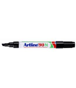 Artline VILTSTIFT 90 SCHUIN ZW 2STKS