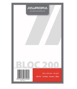 Aurora KLADBLOK 210X135MM BLC 200V