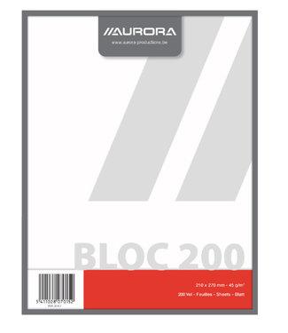 Aurora KLADBLOK 270X210MM BLC 200V