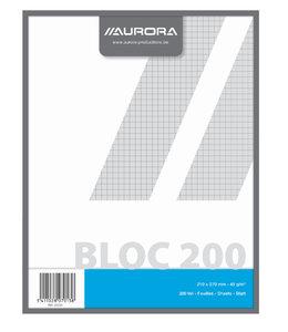 Aurora KLADBLOK 270X210MM RUIT 5X5MM 200V
