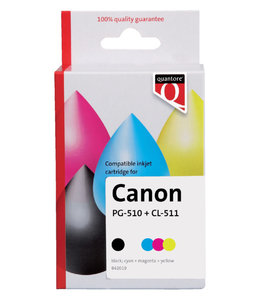 Quantore INKCARTRIDGE CAN PG-510/CL-511