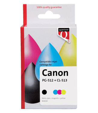 Quantore INKCARTRIDGE CAN PG-512/CL-513