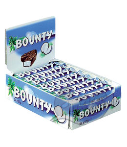 Bounty SINGLE MELK 57GR 24STKS