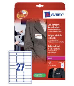 Avery NAAMBADGE ETIKET L4784-20