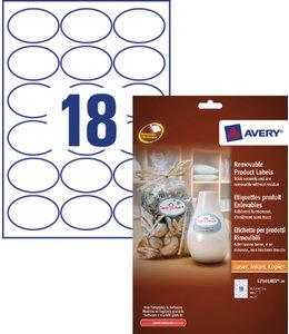 Avery ETIKET L7101REV 63.5X42.3