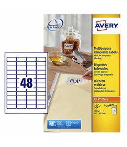 Avery ETIKET L4732REV 35.6X16.9