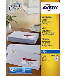Avery ETIKET J8651-100 38.1X21.2
