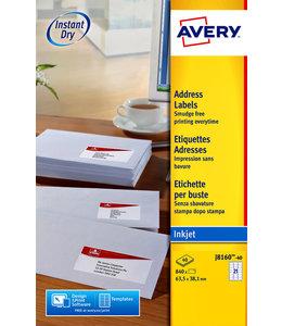 Avery ETIKET J8160-40 63.5X38.1