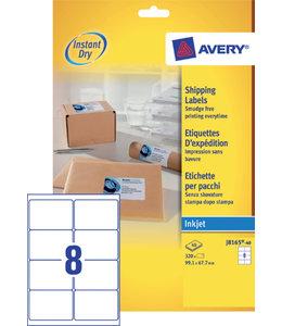 Avery ETIKET J8165-40 99.1X67.7
