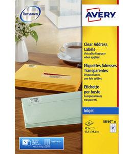 Avery ETIKET J8560-25 63.5x38.1