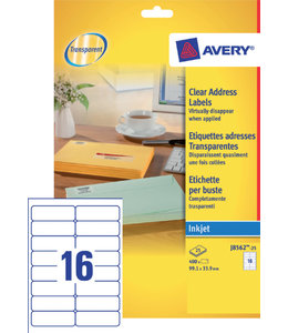 Avery ETIKET J8562-25 99.1X33.9
