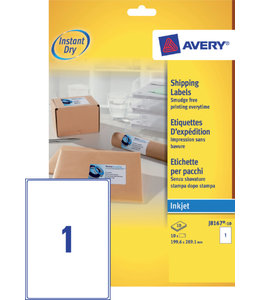 Avery ETIKET J8167-10 199.6X289.1