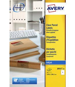 Avery ETIKET J8567-25 210X297