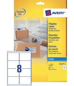 Avery ETIKET J8165-10 99.1X67.7