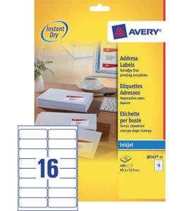 Avery ETIKET J8162-25 63.5X46.6