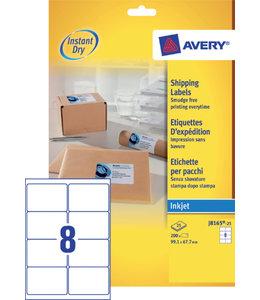 Avery ETIKET J8165-25 99.1X67.7