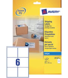 Avery ETIKET J8166-25 99.1X93.1