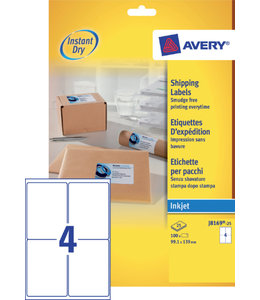 Avery ETIKET J8169-25 99.1X139