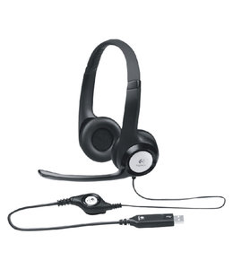 Logitech HEADSET H390 ON EAR ZW