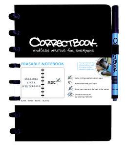 Correctbook A5 BLK ZW