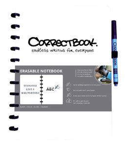 Correctbook A4 BLK WT