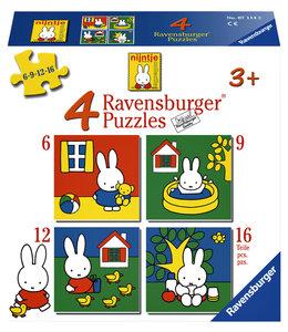 Ravensburger PUZZEL NIJNTJE 6+9+12+16