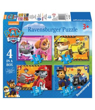 Ravensburger PUZZEL PAW 12+16+20+24