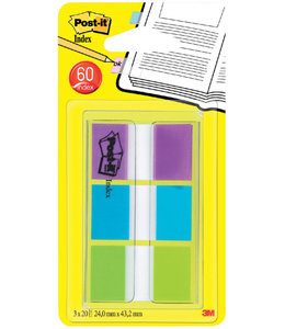 3M Post-it INDEXTABS 680PBG ASS
