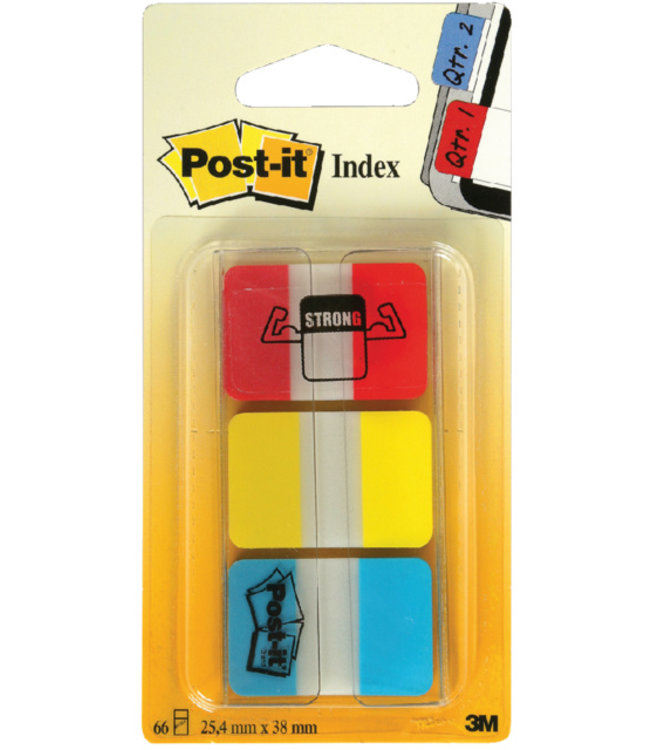 3M Post-it INDEXTABS 686RYB ASS