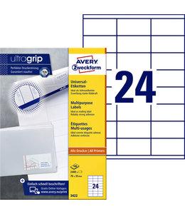 Avery Zweckform ETIKET 3422 70X35