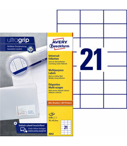 Avery Zweckform ETIKET 3652 70X42.3
