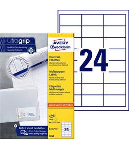 Avery Zweckform ETIKET 3658 64.6X33.8