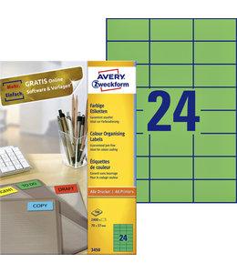 Avery Zweckform ETIKET 3450 70X37 GN