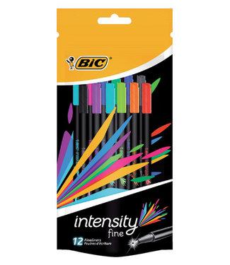Bic FINELINER INTENSITY ASS 12STKS