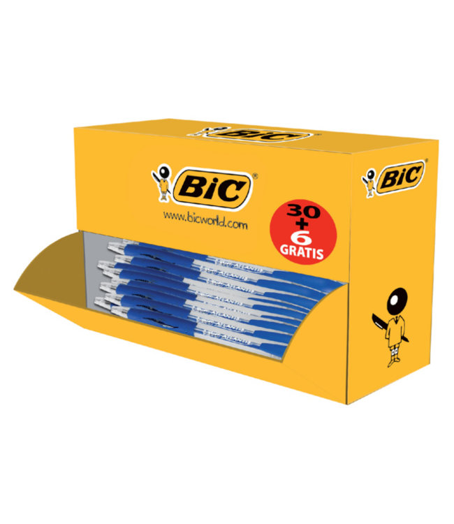 Bic BALPEN  ATLANTIS VALUE BL 30STKS + 6