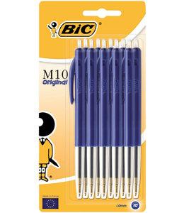 Bic BALPEN M10 BL 10STKS