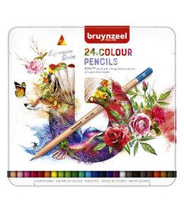 Bruynzeel KLEURPOTLOOD EXPR COLOUR 24STKS