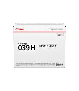 Canon TONERCARTRIDGE 039H 25K ZW