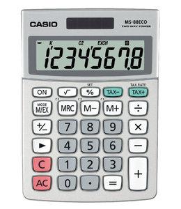 Casio REKENMACHINE MS-88ECO