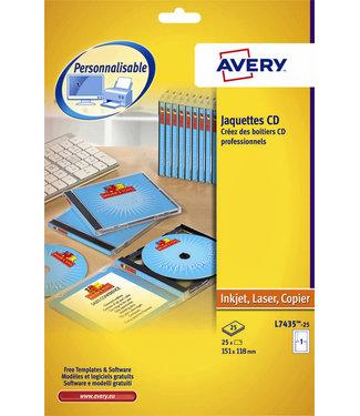Avery CD INLEGKRT L7435-25
