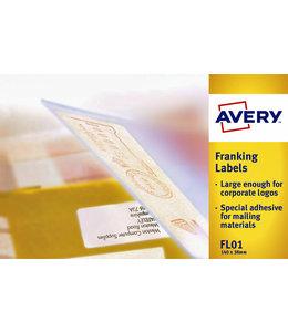Avery ETIKET FL01 140X38 1000STKS