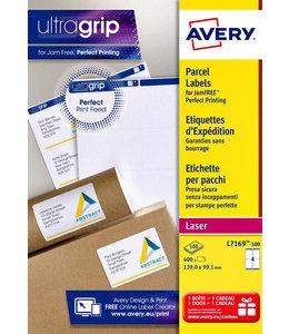 Avery ETIKET L7169-100 99.1X139 400STKS