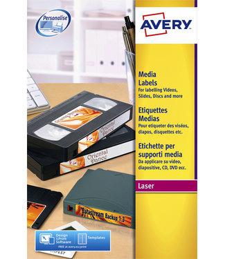 Avery ETIKET L7666-25 70X52MM 250STKS