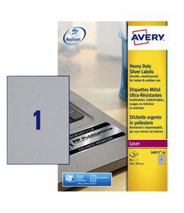 Avery ETIKET L6013-20 210X297 20STKS